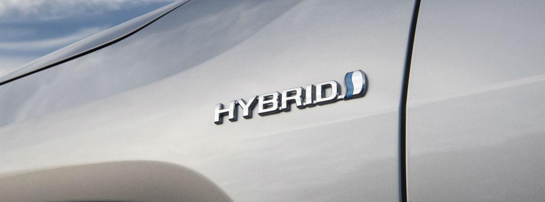 A photo of the hybrid 2020 Toyota RAV4 Hybrid.