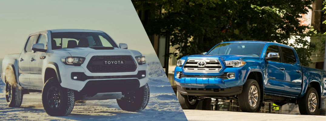 2017 toyota tacoma trd pro series vs 2016 toyota tacoma. Black Bedroom Furniture Sets. Home Design Ideas