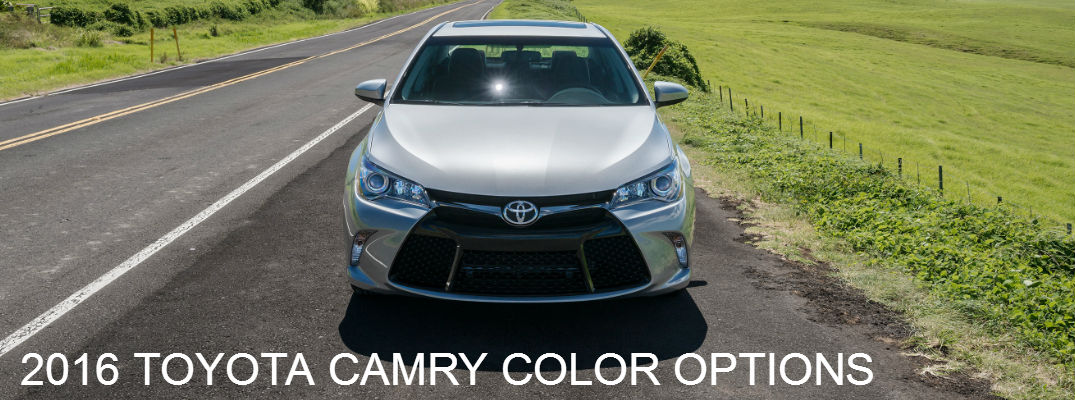 2015 Camry Colors >> Toyota Camry Le 2016 Colors