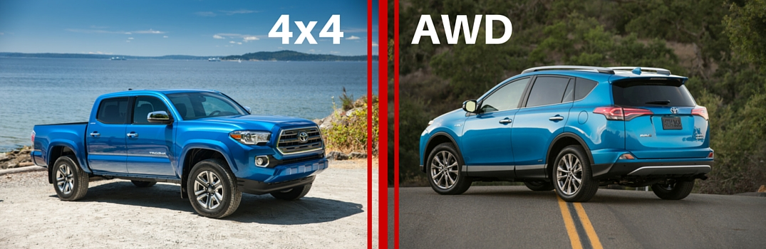Which Is Better Four Wheel Drive Or All Wheel Drive Toyota Of
