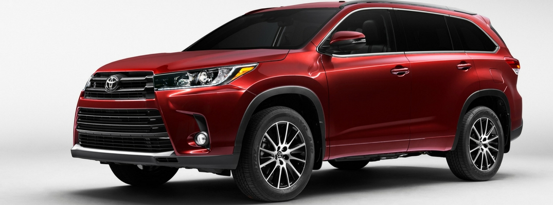2017 Toyota Highlander Features And Specs