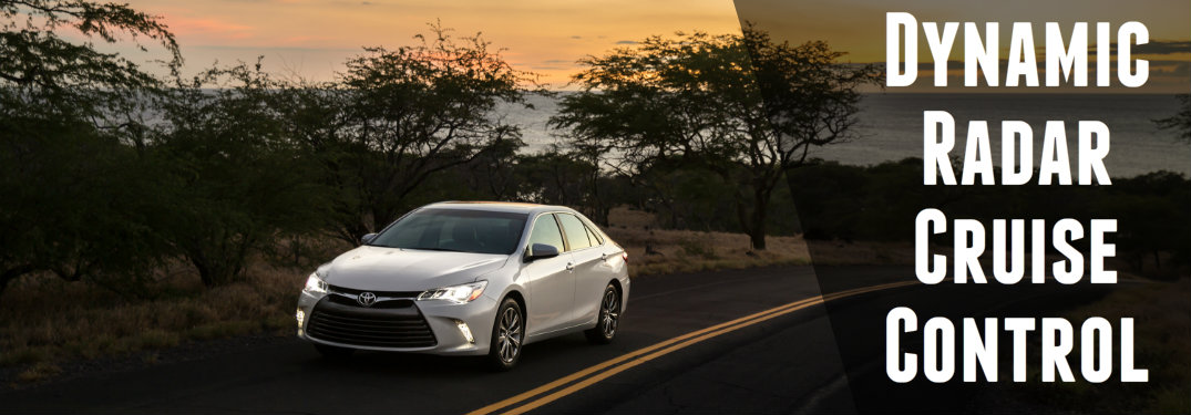How does Toyota's Dynamic Radar Cruise Control work?