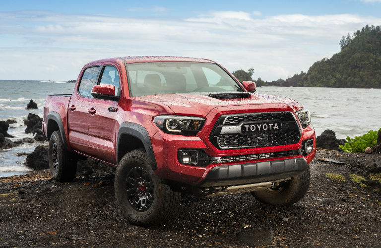 2018 Toyota Tacoma Stylistic Elements and Exterior Design