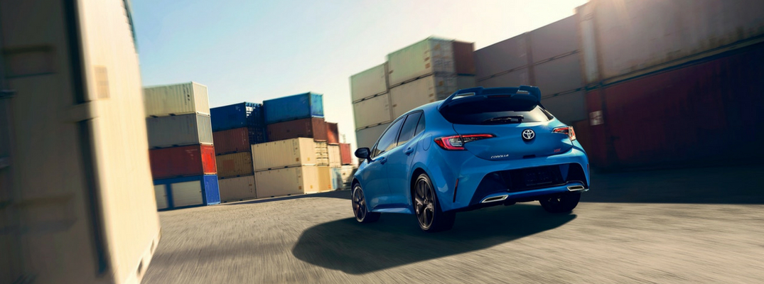 2019 Toyota Corolla Hatchback Cargo Volume And Interior Dimensions