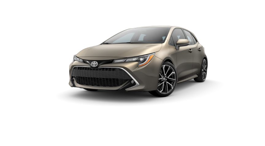 2019 Toyota Corolla Hatchback In Oxide Bronze O Toyota Of Decatur