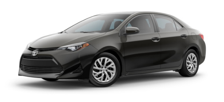 what are the 2019 toyota corolla exterior paint color options