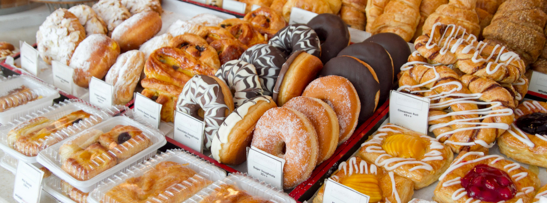 Donuts, Danishes, and Other Assorted Baked Goods