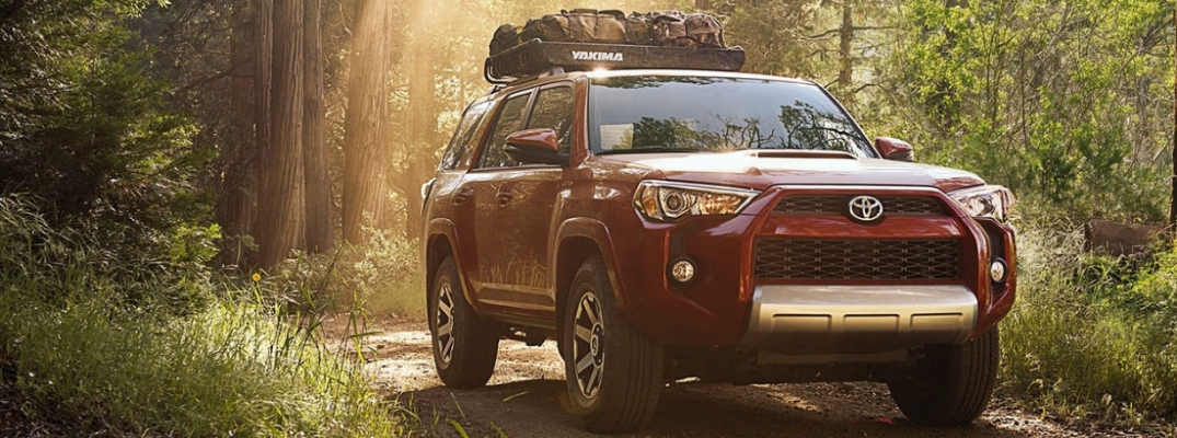 How Much Cargo Space In The 2018 Toyota 4runner Toyota Of Decatur