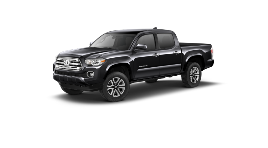 2019 Toyota Tacoma in Midnight Black Metallic