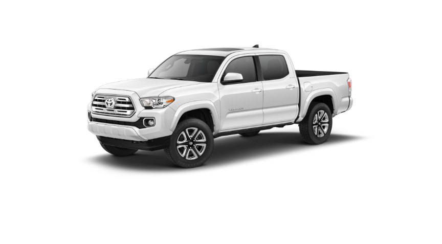 2019 Toyota Tacoma in Super White