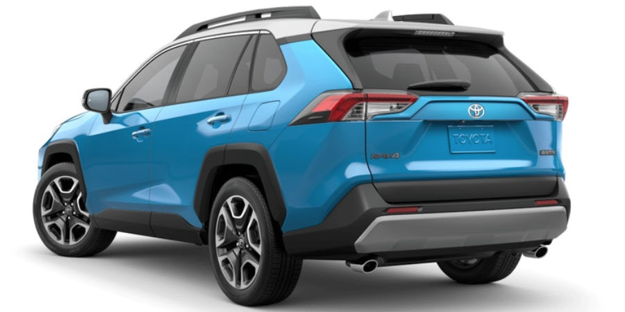 2019 Toyota RAV4 Exterior Paint Color Options and Roof ...