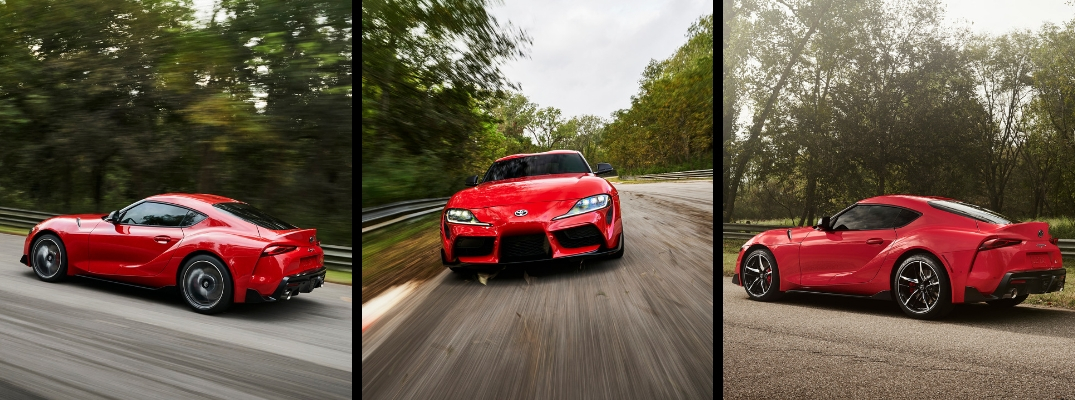 2020 Toyota Supra Collage of Red Exterior