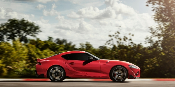 2020 Toyota Supra Side View