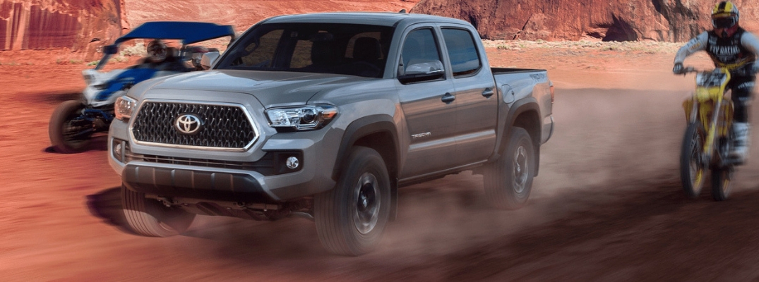 Toyota Tacoma Engine >> What Are The 2019 Toyota Tacoma Engine Options Toyota Of Decatur