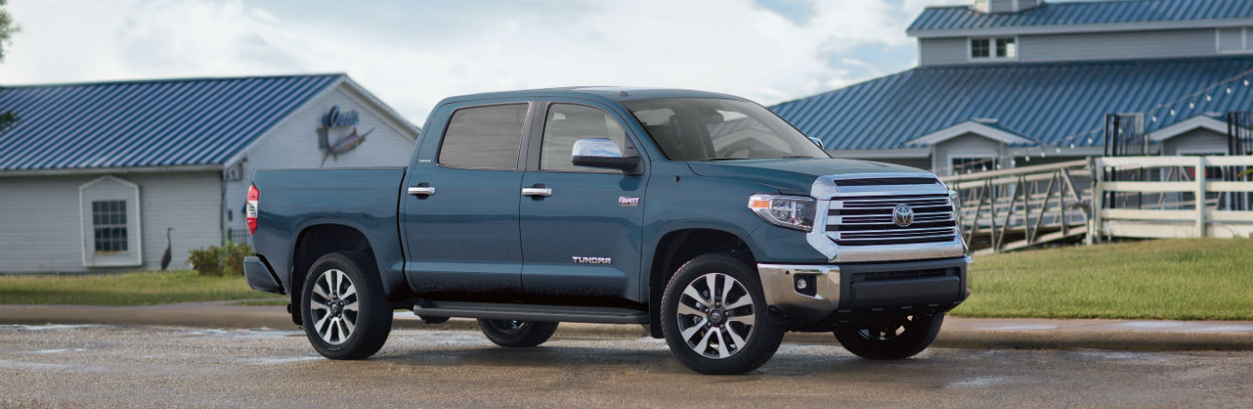 2019 Toyota Tundra Parked on a Ranch