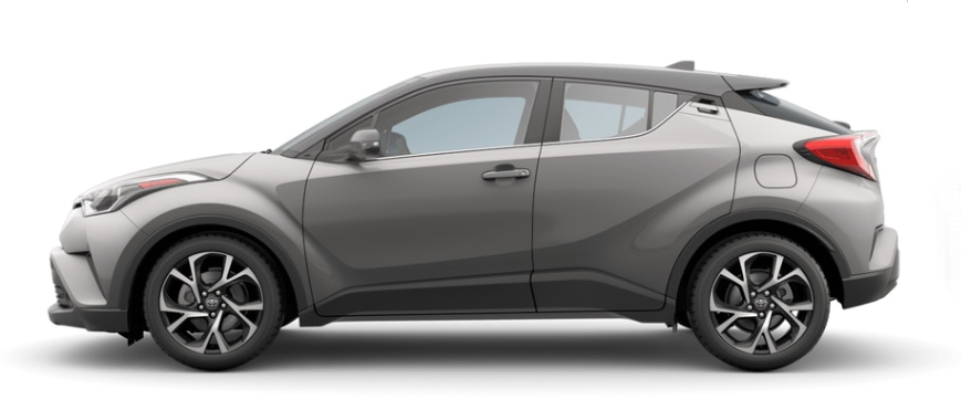 2019 Toyota C-HR Exterior and Interior Color Options