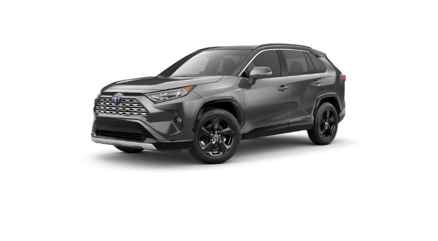 2019 Toyota Rav4 Hybrid Interior And Exterior Color Options
