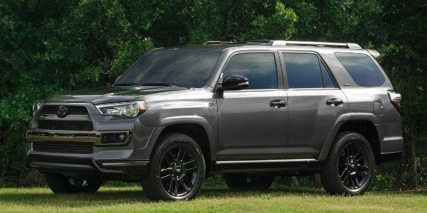 2019 Toyota 4Runner Nightshade Special Edition on grass