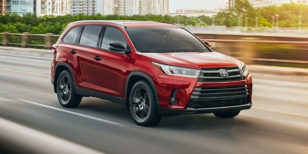 2019 Toyota Nightshade Special Edition driving