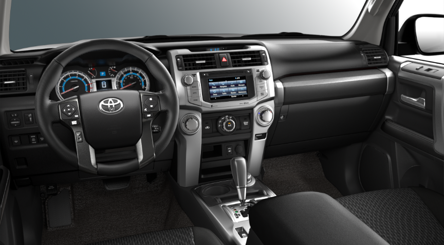 2019 Toyota 4runner Interior And