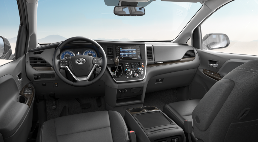 Ash Leather in 2020 Toyota Sienna