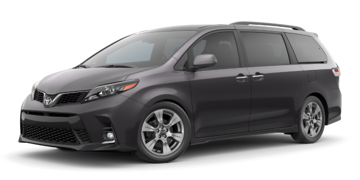 2020 Toyota Sienna in Predawn Gray Mica