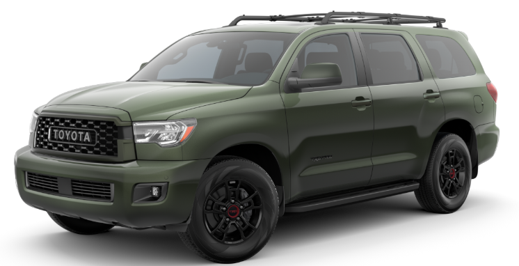 2020 Toyota Sequoia in Army Green