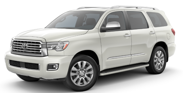2020 Toyota Sequoia Interior and Exterior Color Options Lineup