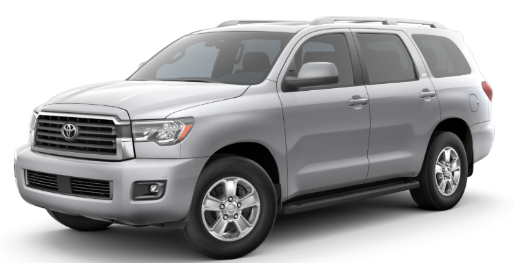2020 Toyota Sequoia in Celestial Silver Metallic