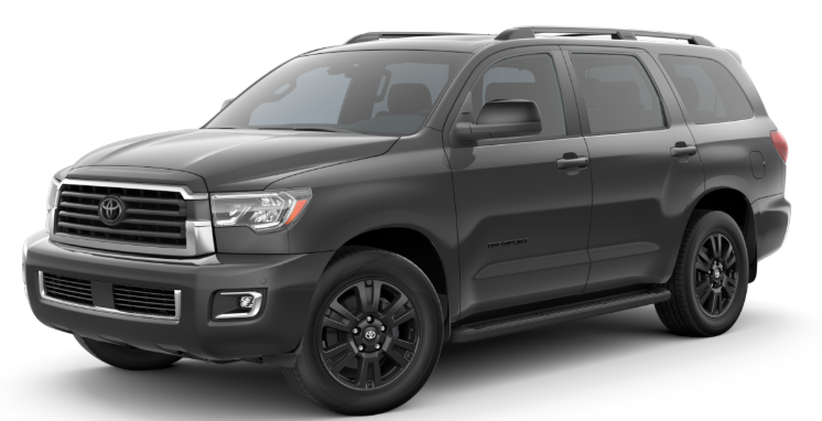 2020 Toyota Sequoia in Magnetic Gray Metallic