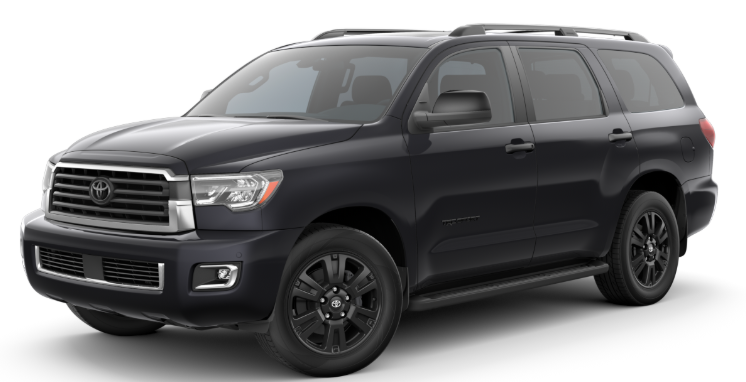 2020 Toyota Sequoia in Midnight Black Metallic