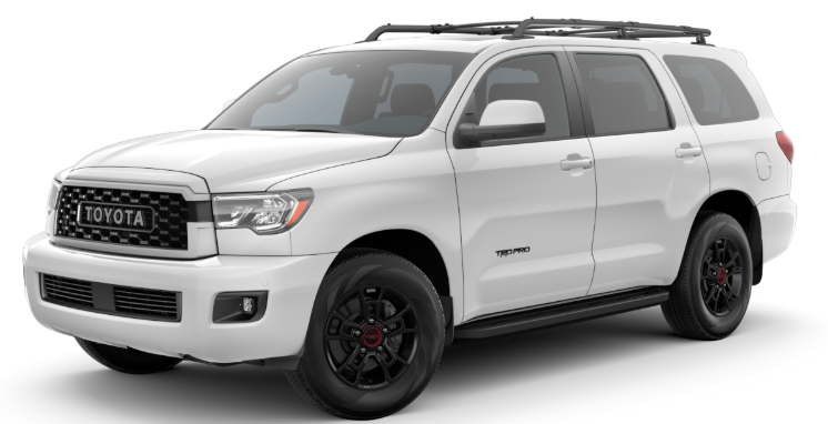 2020 Toyota Sequoia in Super White