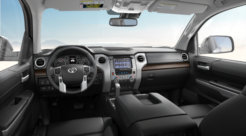 Black Leather in 2020 Toyota Tundra