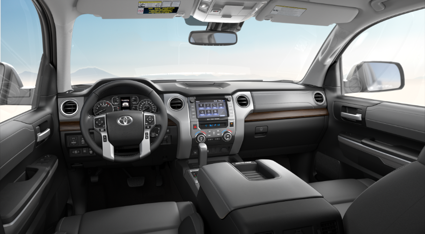Graphite Leather in 2020 Toyota Tundra