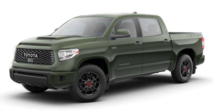 2020 Toyota Tundra in Army Green