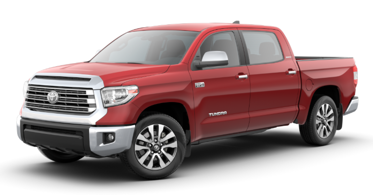 2020 Toyota Tundra in Barcelona Red Metallic