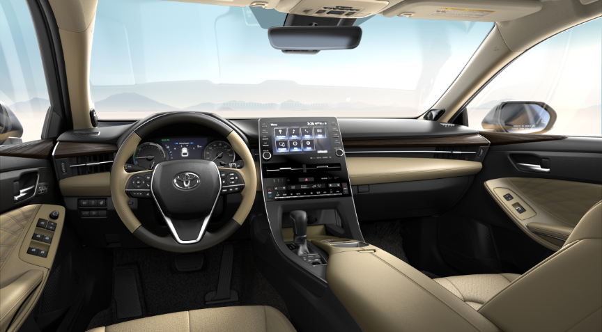 Beige Leather Trim in 2020 Toyota Avalon