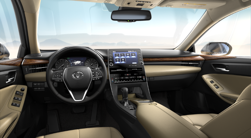 Beige Softex® in 2020 Toyota Avalon