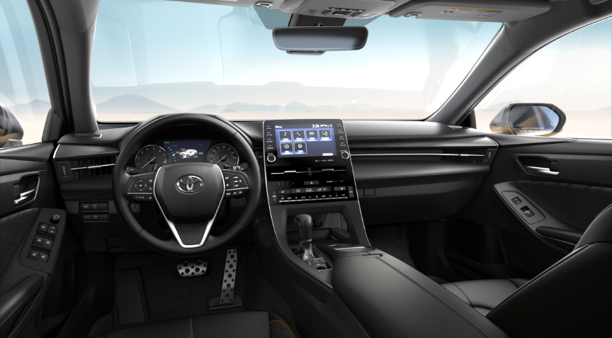 Black Softex® + Ultrasuede® in 2020 Toyota Avalon
