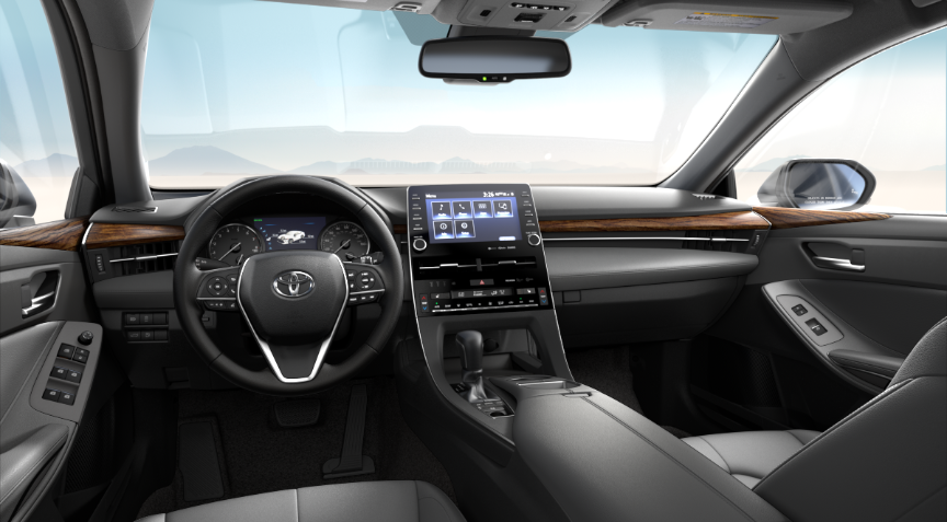 Gray Softex® in 2020 Toyota Avalon