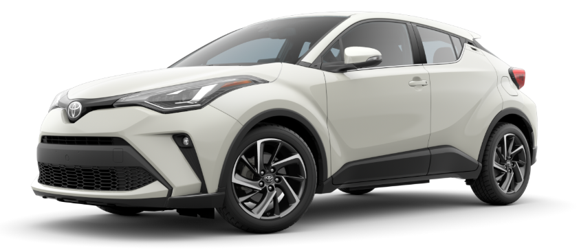 2020 Toyota C-HR in Blizzard Pearl