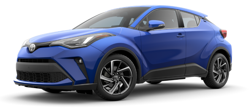 2020 Toyota C-HR in Blue Eclipse Metallic