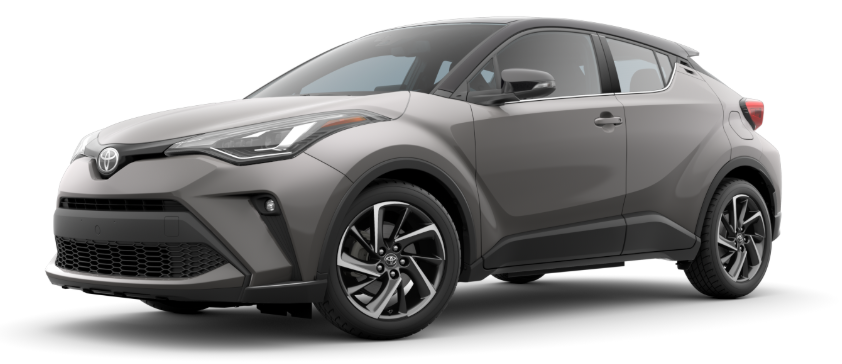 2020 Toyota C-HR in Silver Knockout Metallic R-Code Black