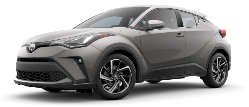 2020 Toyota C-HR in Silver Knockout Metallic