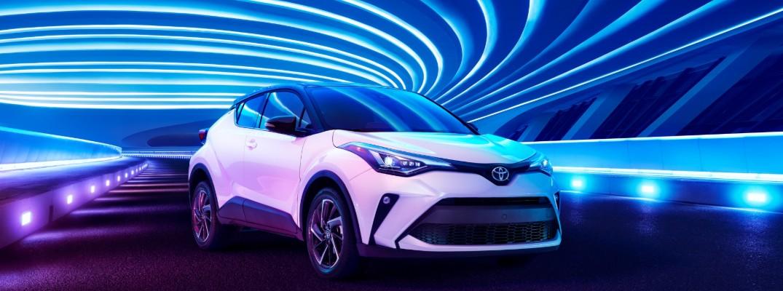 White 2020 Toyota C-HR
