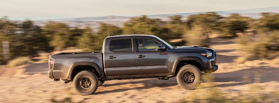 Take a look at how we got here with the Toyota Tacoma