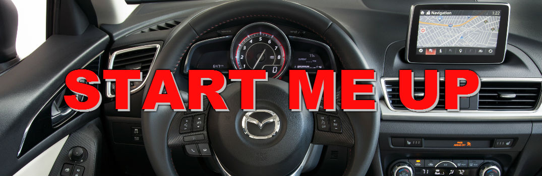 How to use Mazda 3 push-button start
