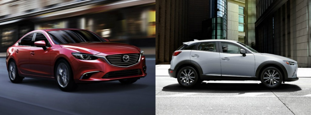 2016 mazda 6 vs 2016 mazda cx 3. Black Bedroom Furniture Sets. Home Design Ideas