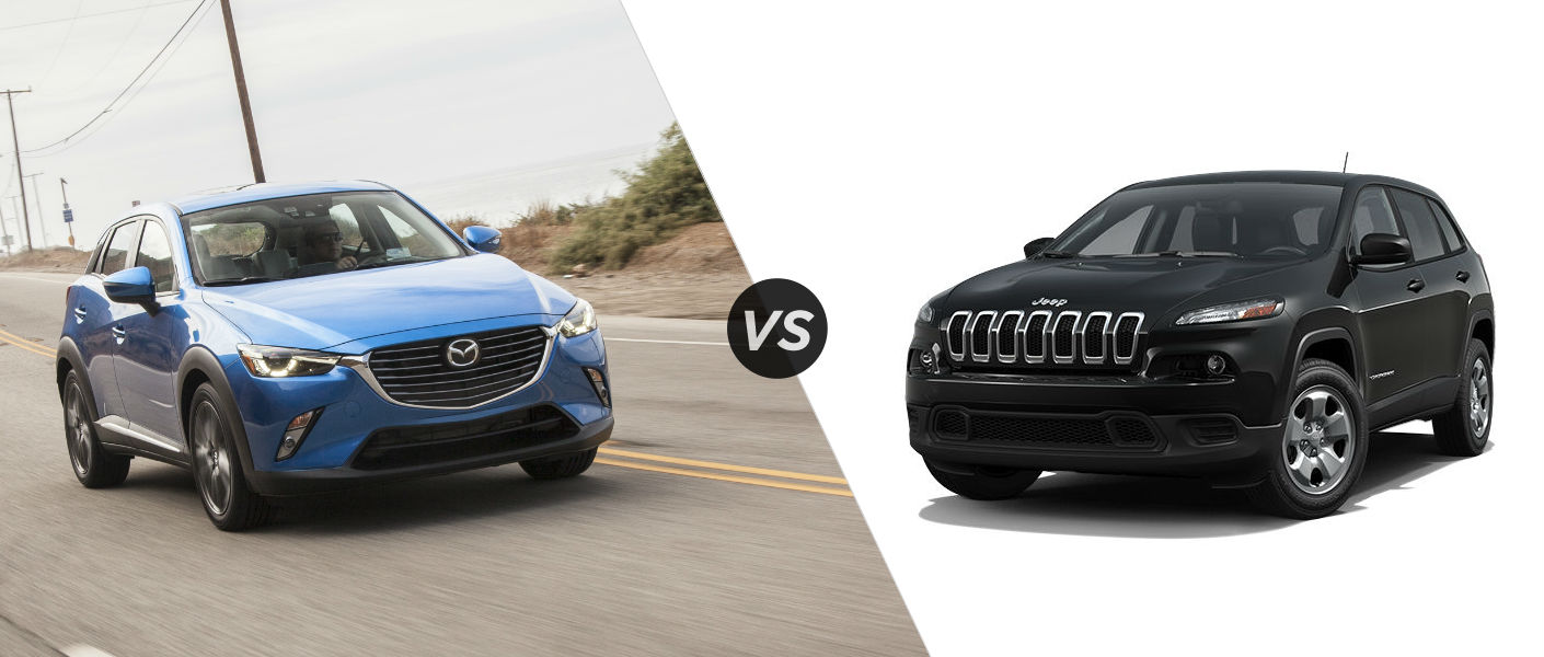 2016 Mazda CX-3 vs Jeep Cherokee