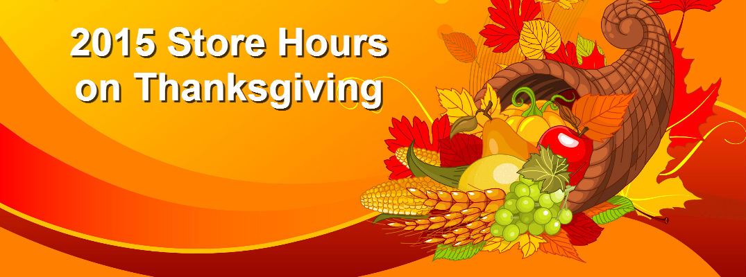 Birmingham AL Thanksgiving 2015 Store Hours